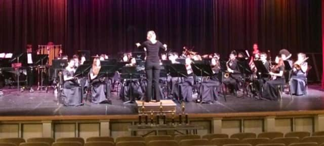 The NVOT Wind Symphony earned a silver rating