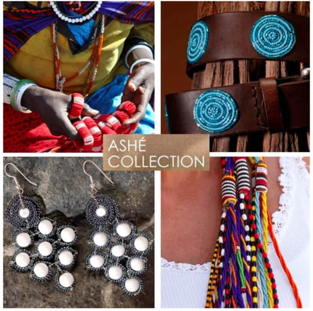 Africa's Ashe Collection trunk show will be Tuesday, April 12, from 10 a.m.-5 p.m. at Goldenberry in New Canaan.