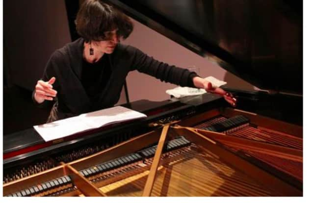 There will be a piano concert with Idith Meshulam Korman, pianist and artistic director of Ensemble Pi, at the Neuberger Museum in Harrison on Wednesday, April 13, at 12:30 p.m.