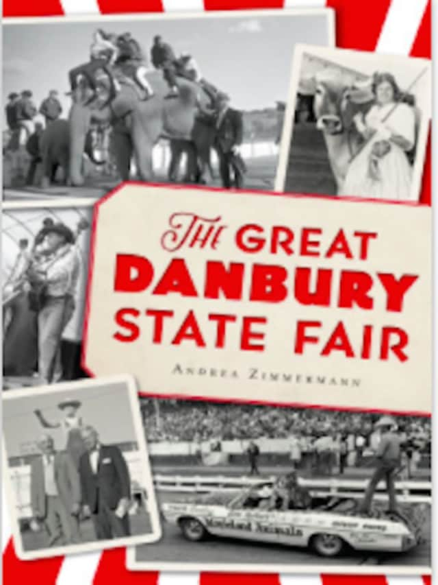 """Author Andrea Zimmermann will talk about her book, """"The Great Danbury State Fair,"""" at Bethel Public Library on Saturday, April 9, from 2-3 p.m."""