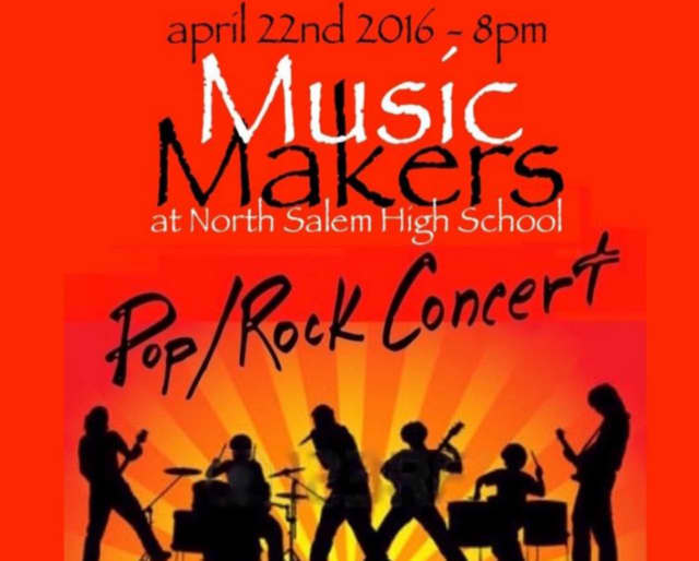 North Salem High School will host a concert that will serve as a fundraiser for the school district's music program.