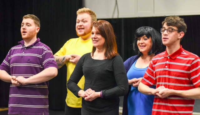 """""""You're a Good Man, Charlie Brown"""" is opening at The Darien Arts Center on April 22 and running weekends through May 7."""
