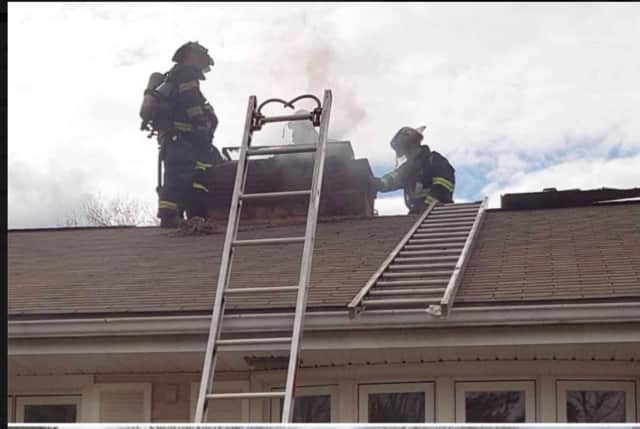 A chimney fire occurred in Trumbull on Friday.