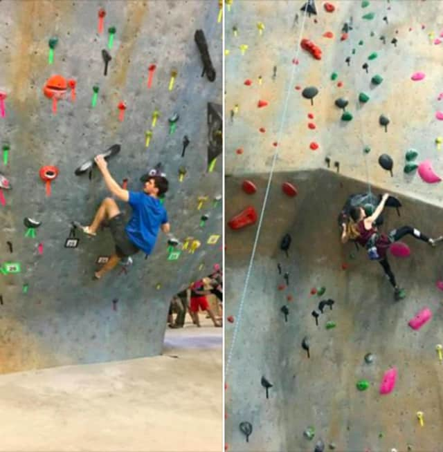 Annika Nieshalla and Charlie Schreiber are both proven collegiate winner in rock climbing.