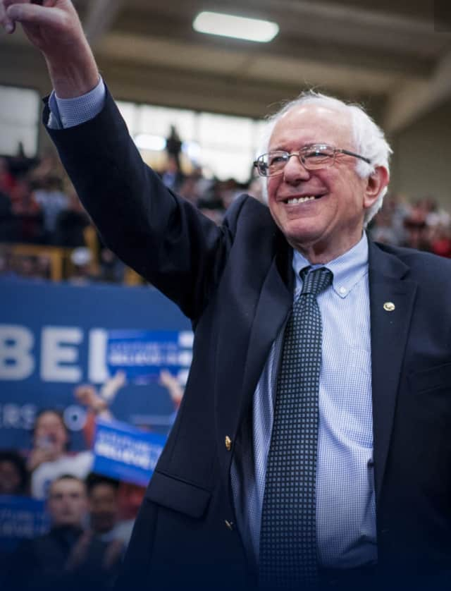 U.S. Sen. Bernie Sanders is holding a campaign rally on the New Haven Green on Sunday.