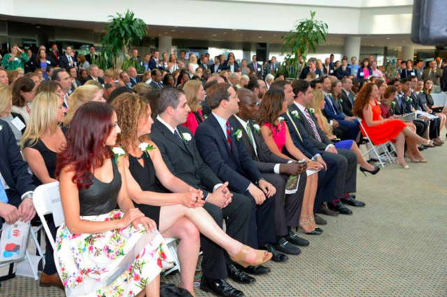 A crowd turned out for last year's Rising Stars celebration hosted by the Business Council of Westchester.