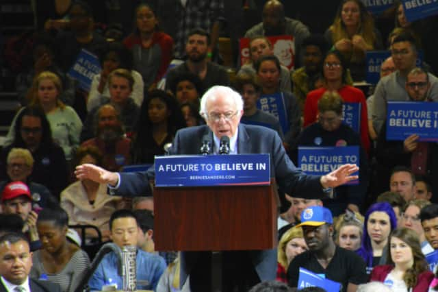 Bernie Sanders is the favorite in New York to unseat President Donald Trump.