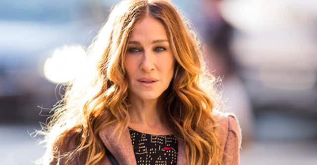 "Sarah Jessica Parker has been spotted around Westchester filming scenes for HBO's ""Divorce."""