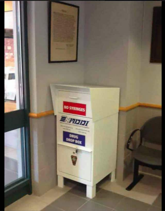 While Drug Take Back Day is April 30, Norwalk Police Department is offering Drug Take Back Day every day with its Drug Drop Box.