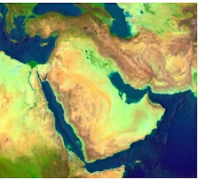 """The discussion is called """"An Elusive Peace: U.S. and Middle East Relations, 1945-9/11."""""""