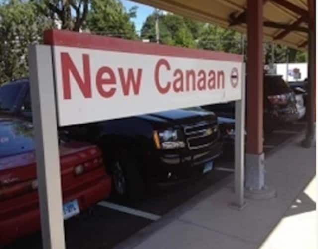 Buses will be running this weekend from the New Canaan train station.