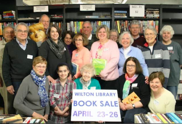Wilton Library's annual book sale is set for April 23 to April 26.