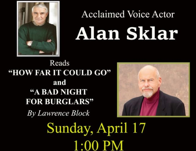 Voice actor Alan Sklar will visit the North Castle Public Library.