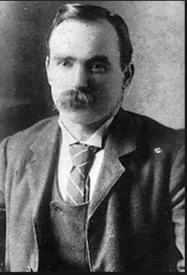 Irish Socialist and leader of the 1916 Easter Rising, James Connolly. The Greenwich Hibernian Association will host a flag-raising ceremony April 24 to commemorate the 100th anniversary of the event.