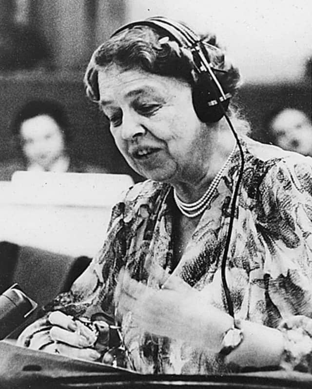 Former First Lady Eleanor Roosevelt