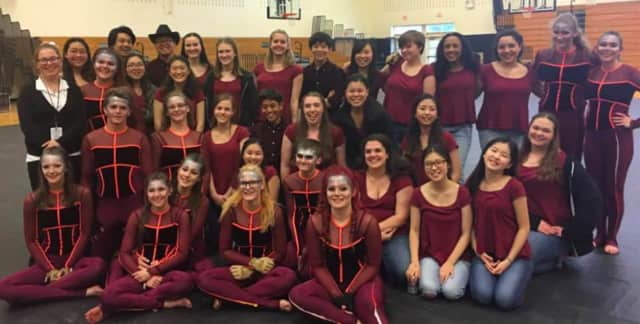 The Northern Valley Winter Guard took first in its division and second overall with a score of 86.3