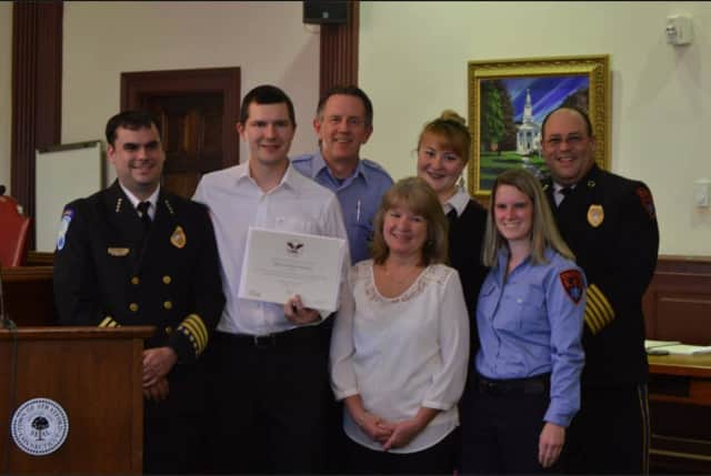 Members of the Stratford EMS recently attended the annual Volunteer Appreciation Night.