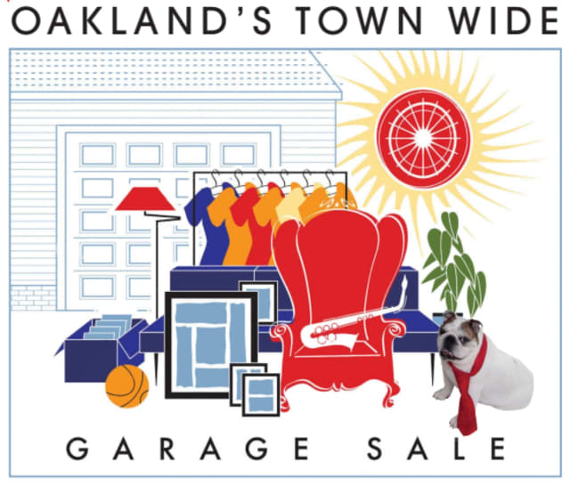 The Oakland Town Wide Garage Sale is set for next month. Registration is quickly approaching.