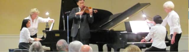 """The Darien Community Association's Duo Piano Group will perform its spring concert """"Musical Treats: A Springtime Feast of Favorites"""" on Sunday, April 24 at 4 p.m. at the DCA, 274 Middlesex Road in Darien."""