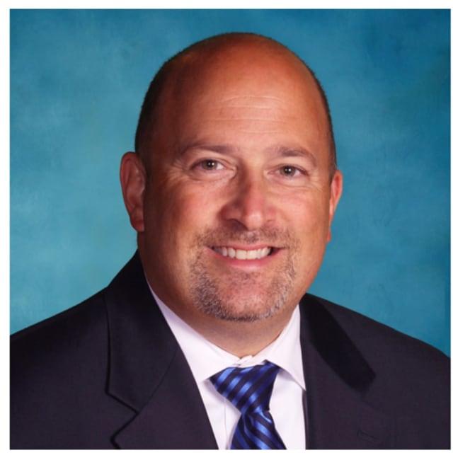 Bethel Middle School Principal Derek Muharem