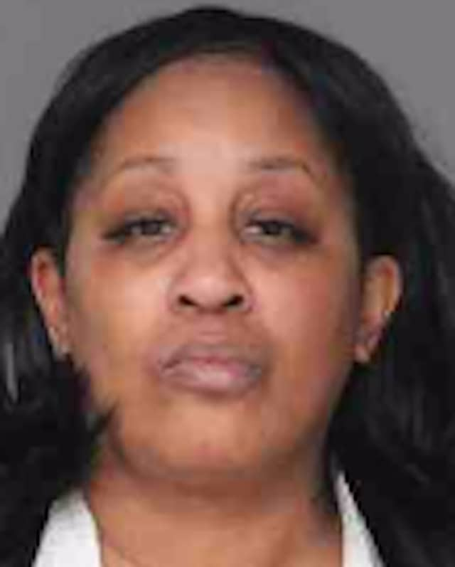 Alesia Blackwell, 51, was arrested on felony drug possession and paraphernalia charges in White Plains by Greenburgh police. She also was charged with endangering the welfare of a child.