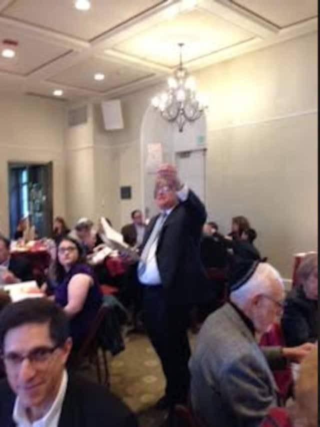 Rabbi David Greenberg and Temple Shaaray Tefila will celebrate Passover this Saturday.