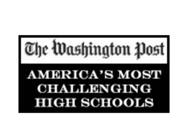 Washington Post America's Most Challenging High Schools.