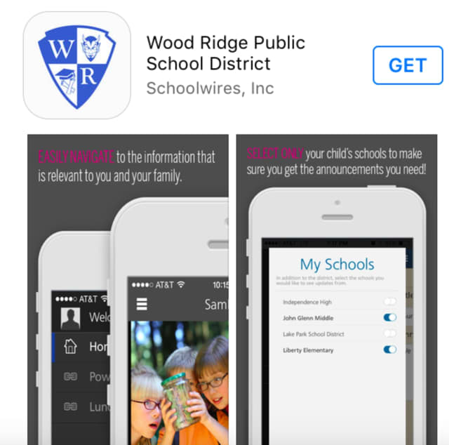 The Wood-Ridge School District has rolled out a new mobile app.