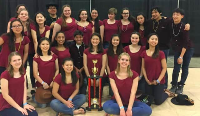 The Northern Valley Winter Guard took third this weekend.