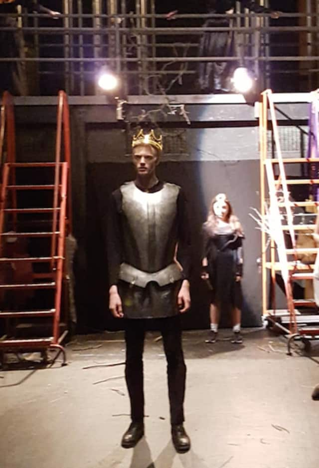 "Horace Greeley High School students are performing in ""Macbeth"" this week."