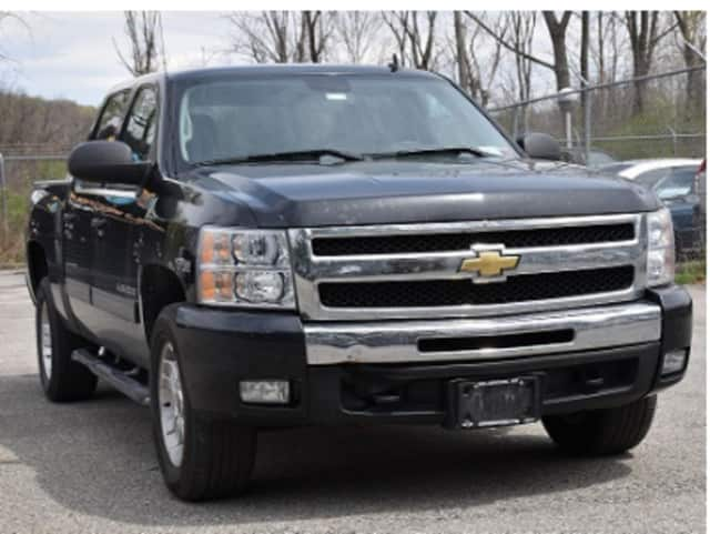 William Martini IV was operating the pictured 2010 black Chevrolet Z71 pick-up truck, police said.