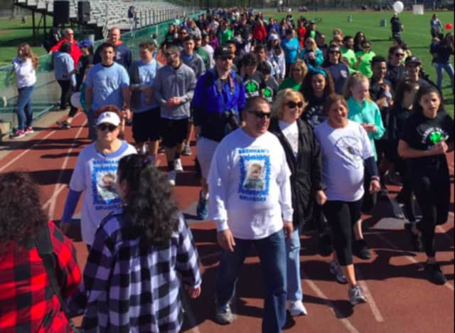 Over 650 came out to support PVHS' first autism walk.