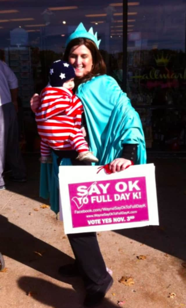Locals have gotten creatively involved in the full-day kindergarten debate.