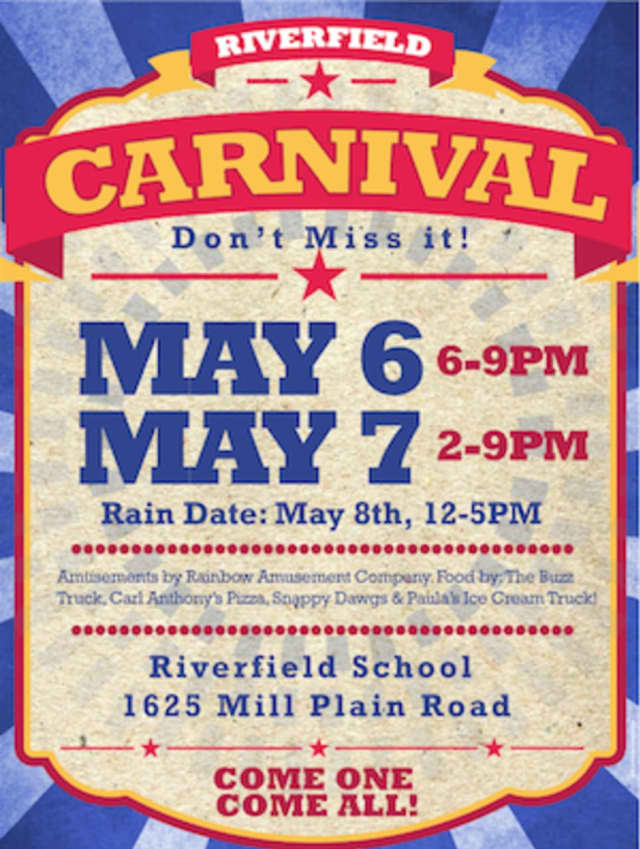 The Riverfield Elementary School PTA is holding its Spring Carnival May 6 and 7.