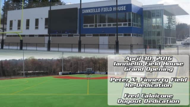 Pace will host the Ianniello Field House grand opening and Finnerty Field and Calaicone Dugout dedications in Pleasantville this weekend.