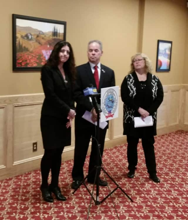 Rockland County Executive Ed Day joined Rockland Commissioner of Health Dr. Patricia Schnabel Rupert and Catherine Johnson Southren in announcing the results of the county's code initiative.