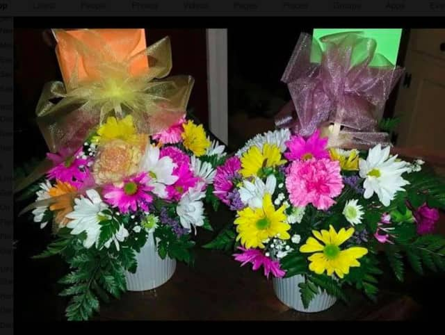 """The """"Make a Flower Arrangement for Mom"""" event on Thursday, May 5."""