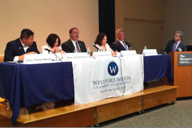 """The Westport Weston Chamber of Commerce, in association with the Connecticut Business and Industry Association, will host a Post Session Legislative Update, entitled """"What's Happening in Hartford,"""" at the Westport Library on Wednesday, May 11."""