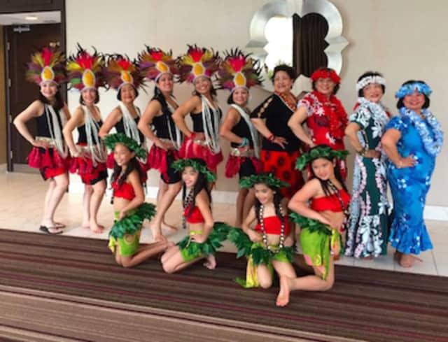 The Connecticut Tiare Polynesian Dance Troupe.
