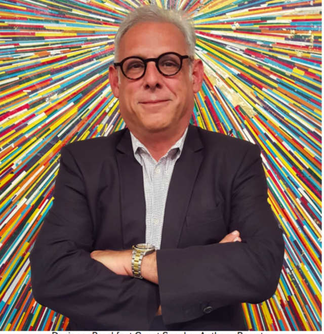 Interior designer Anthony Baratta will headline Near & Far Aid's Designer Power Breakfast in Fairfield as part of its Near & Far Aid 2016 Designer House Tour on Friday, May 6.