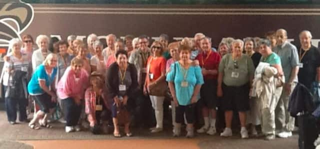 Many locals toured sites around Florida with AARP Kingsland-Lyndhurst Chapter 4866.
