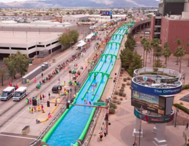 Slide the City returns to Stamford on July 17.