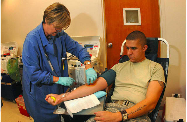 The Edith Wheeler Memorial Library in Monroe will host an American Red Cross blood drive Saturday from 9 a.m.-2 p.m.