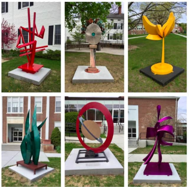 Bethel Arts Sculpture. The grand opening and ribbon cutting for the Bethel Outdoor Public Sculpture Exhibit is on Saturday, May 7, from 4-6 p.m. on the Municipal Center Lawn and from 6-8 p.m. at the Bethel Public Library.