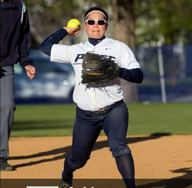 Ashley Lew, a sophomore from Clarkstown HIgh School, has helped Pace University's softball team reach its second straight NCAA Division II Tournament.