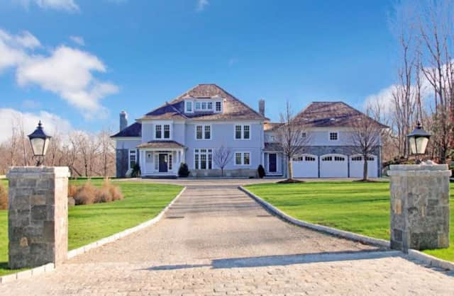 Coldwell Banker real estate agents Pamela Chiapetta and Frances Unrine will host an open house on Sunday, May 15, at a newly-constructed 6-bedroom Colonial at 311 Stanwich Road in Greenwich. Guests can also meet the builder, Joe Pagliarulo.