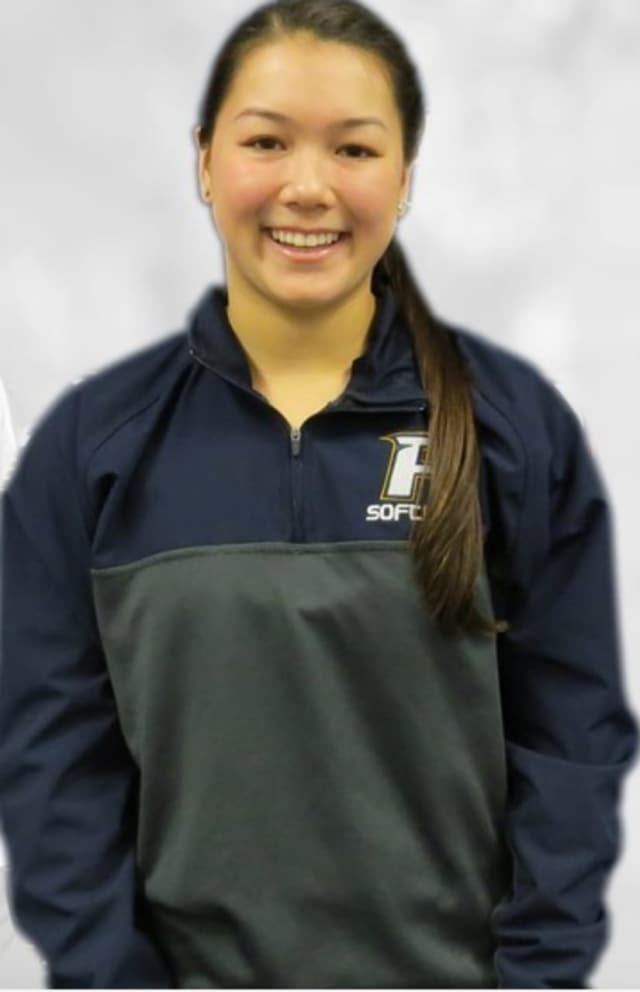 Ashley Lew, a graduate of Clarkstown High North, earned several softball accolades for the Pace University softball team.