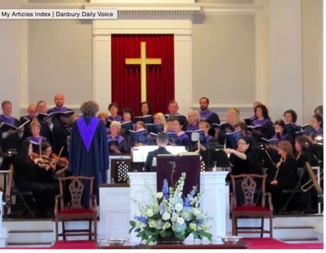 Congregational Church of New Canaan's choir. The community is invited to a free gala benefit concert at 7 p.m. on Saturday, May 14 at The Congregational Church of New Canaan, 23 Park St.