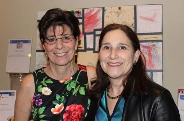 L to R: Lisa Roberts and Barbara Merson.