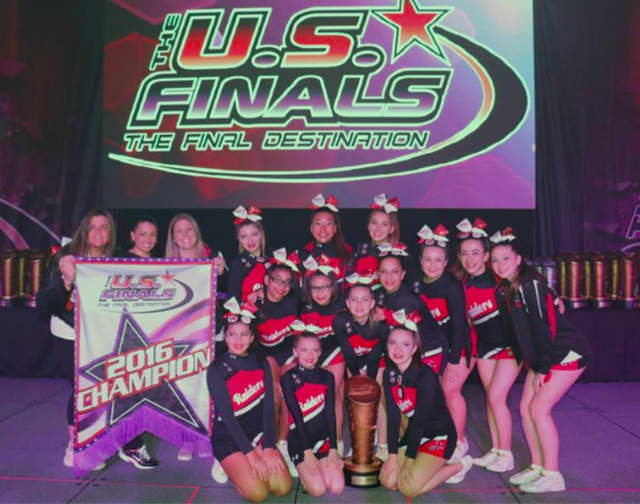 The Cliffside Park Recreation Competitive Cheerleading Team, Raiders Elite, competed at the US Finals in Providence, Rhode Island.
